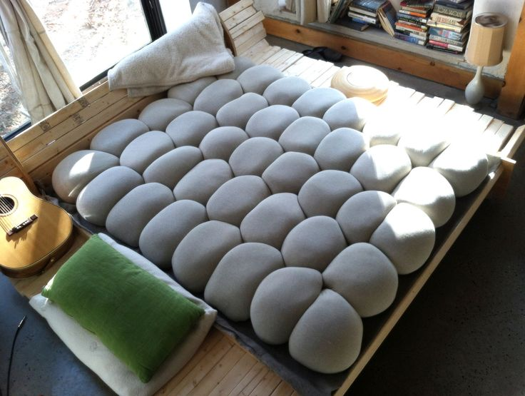 Open Your Eyes Bedding - New Twist (Pod Style) Buckwheat DIY mattress