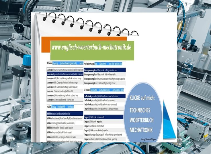 Uebersetzer (Hilfe fuer englische Woerter): Wichtige Fachbegriffe zur Hydraulik / Pneumatik / Mechatronik (deutsch-englisch Wortschatz Fachausdruecke Vokabeln)