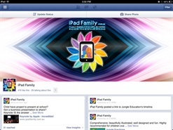 Facebook Pages Manager - the best, most effective way to manage your Facebook Pages from iPad or iPhone.  Awesome!