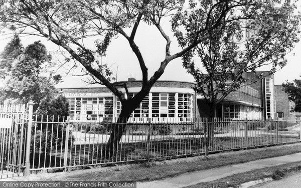 Outwell, Beaupre Primary School c1965