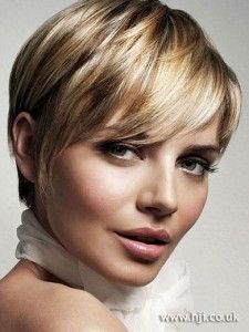 Very short brown hairstyles for women