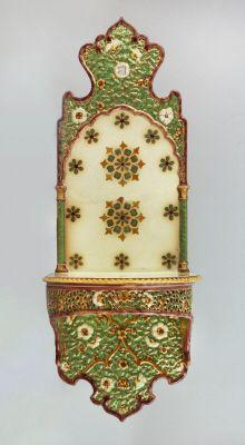 Zsolnay fali konzol