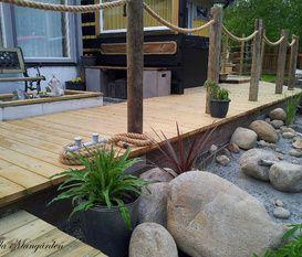 Nya altanen med pool av Naturlignorr