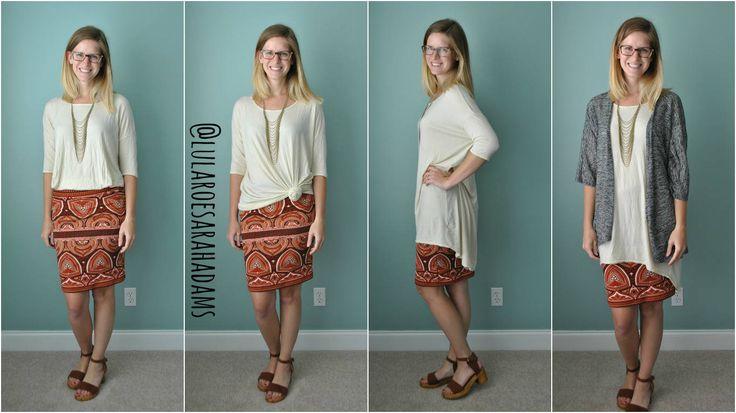 Shop LuLaRoe: facebook.com/groups/llrsarahadams // Style Your LuLaRoe Illustration: LuLaRoe Cassie Skirt with LuLaRoe Irma Tunic // LuLaRoe Sarah Adams // @lularoesarahadams