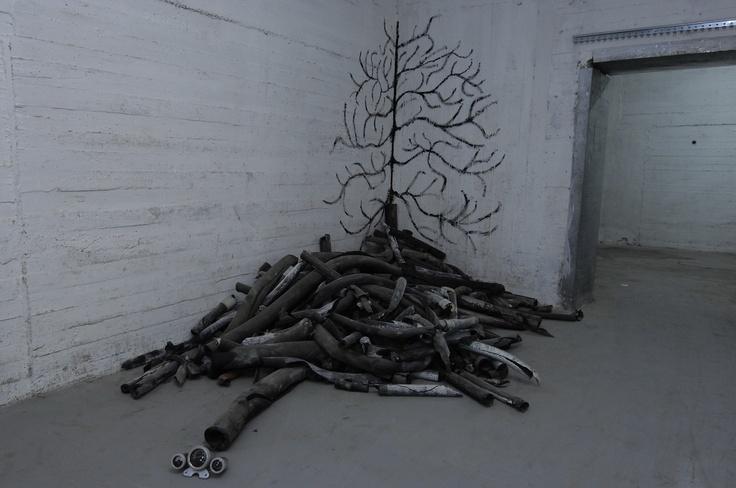 Tree of life, mixed media, 2008