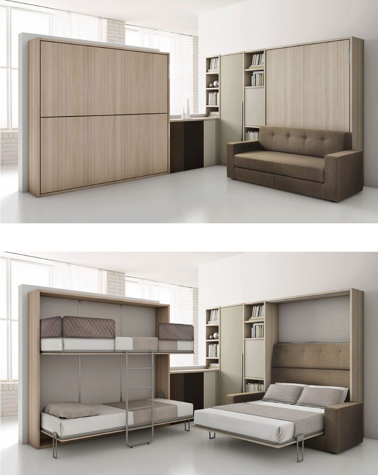 les 25 meilleures id es concernant armoire lit escamotable. Black Bedroom Furniture Sets. Home Design Ideas