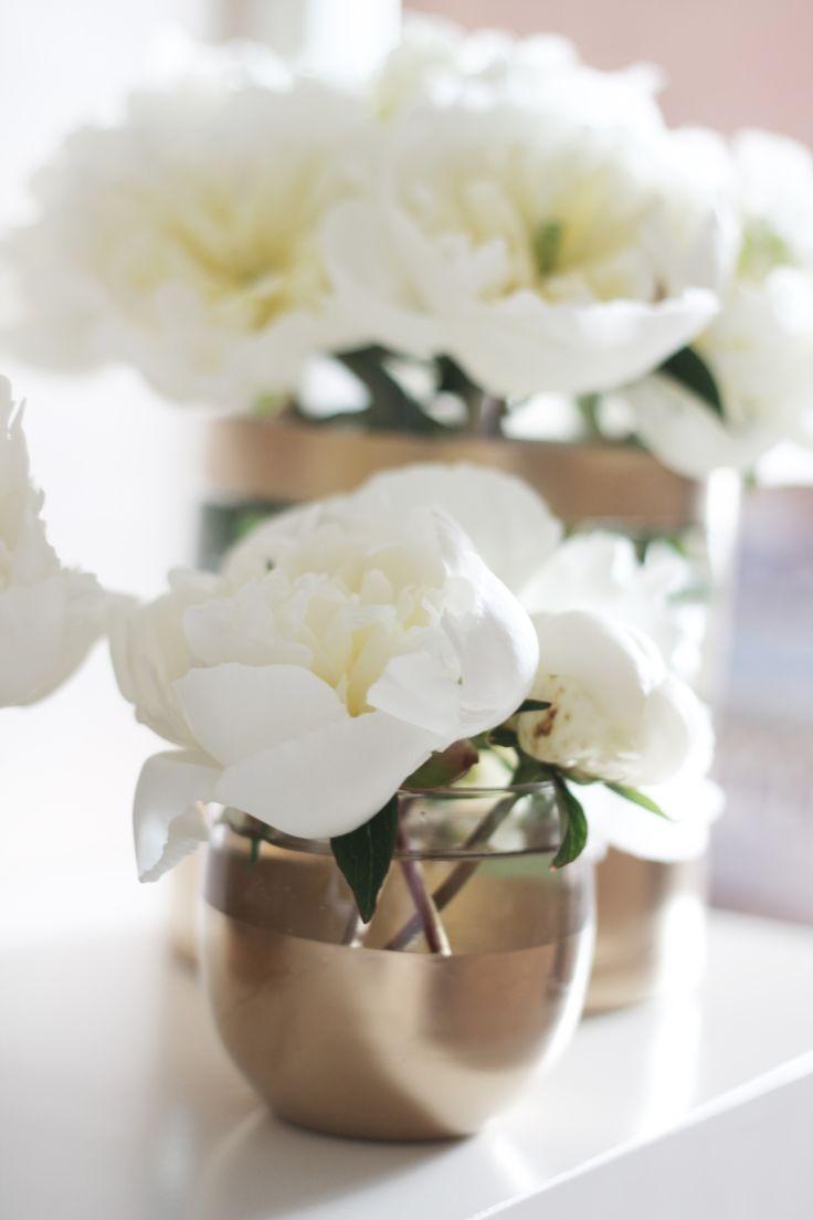 DIY: Les Vases Dorés - L'appartement Living - A life & style blog