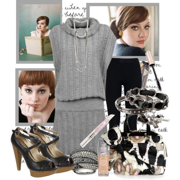 Adele, created by shakeyd23 on Polyvore