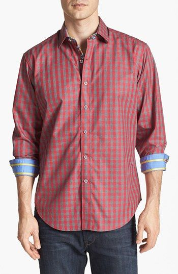 Robert Graham 'Darver' Trim Fit Sport Shirt available at #Nordstrom