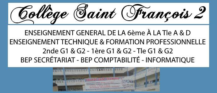 Collège Saint Francois 2 - La réussite scolaire de nos élèves est au cœur de notre préoccupation.