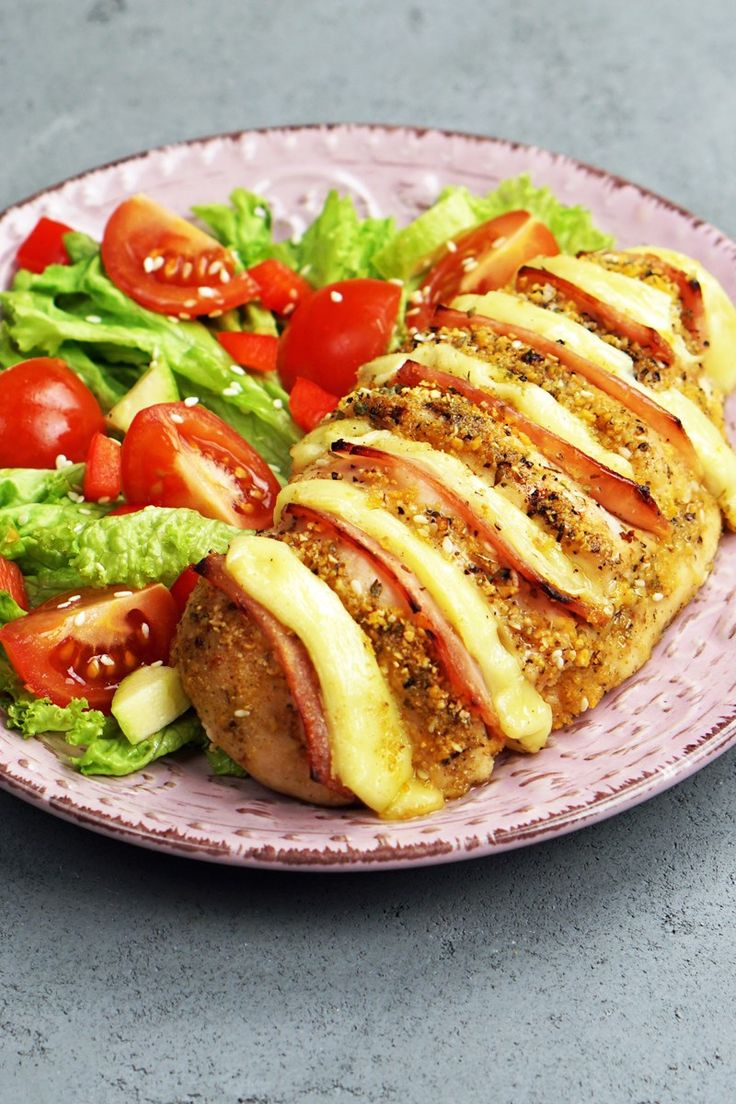 Hasselback Chicken Cordon Bleu Recipe