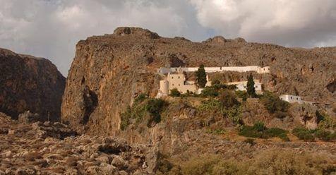Μωσαϊκό: Η ιερά μονή Καψά Αγίου Ιωάννη Προδρόμου