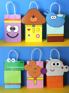 Hey Duggee Party favor bag ideas
