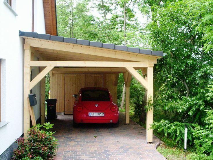 Pent Roof Carport Solar Terraces Carportwerk Gmbh Outdoorshedplans In 2020 Diy Carport Carport Designs Carport Sheds