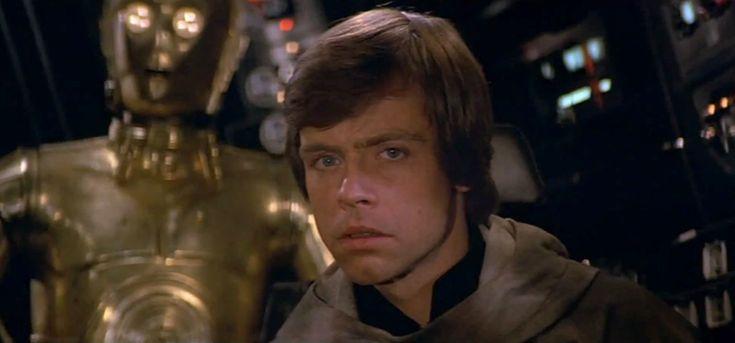 Mark Hamill as Luke Skywalker in Star Wars - Episode VI ...