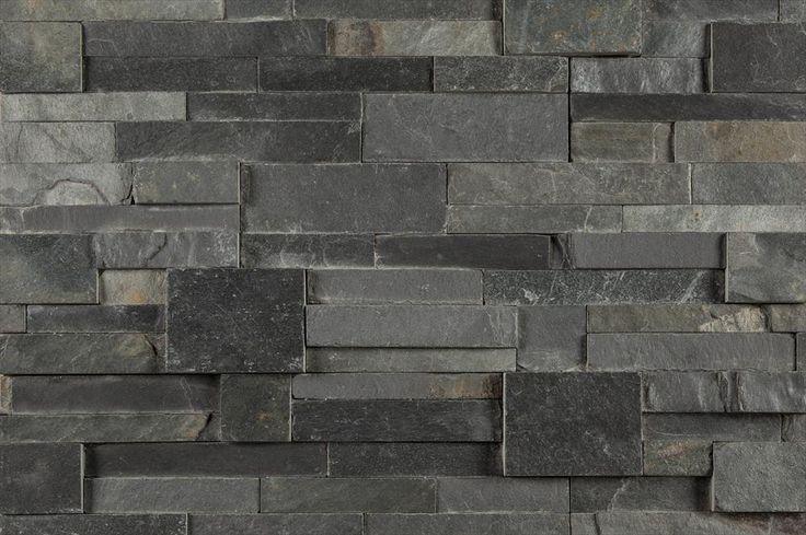 BuildDirect®: Stone Siding Natural Ledge Stone Slate Collection Charcoal