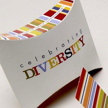 Celebrating Diversity Pop Out Cards $7 @ www.graceandlace.com.au
