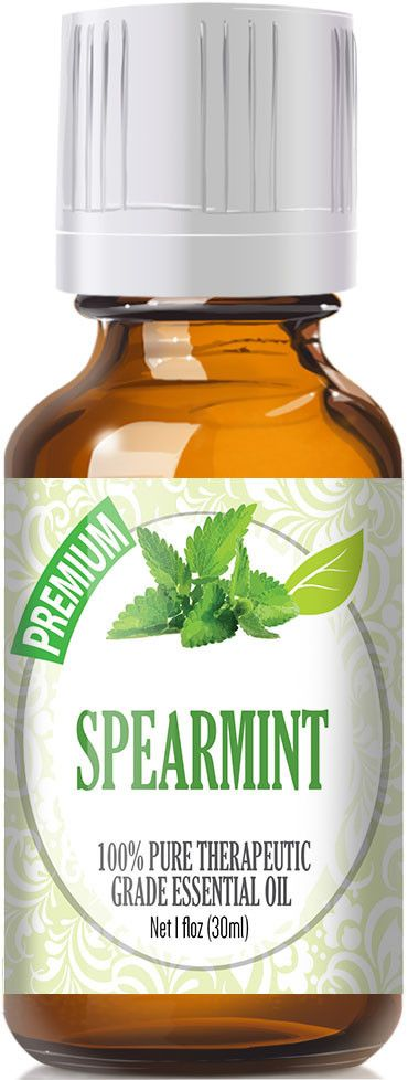Spearmint Essential Oil has a sweet minty aroma similar to peppermint but less sharp. Botanical Name: Mentha spicata