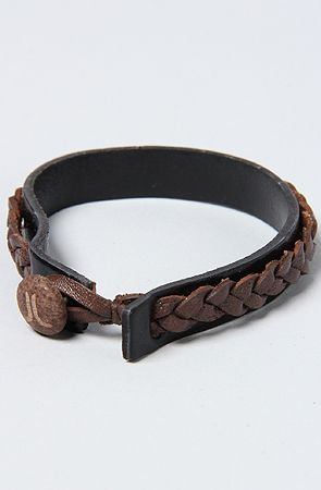 .men's leather cuff