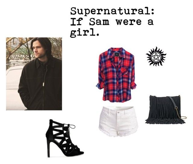 """Supernatural; If Sam were a girl"" by willowokimaw on Polyvore featuring SONOMA Goods for Life"