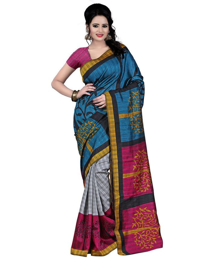 Designer Party Wear Wedding Indian Pakistani Saree Sari Bollywood Ethnic Sari #VardhamanGoodwill #SareeSariWithUnstichedBlouse