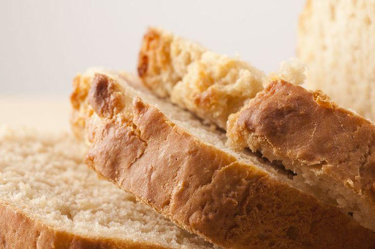 Cheezy Garlic Beer Bread