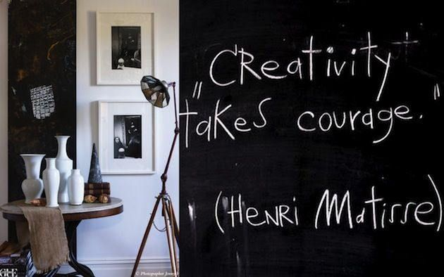 Courage and Creating   The Creative Mind -- What fears and anxieties can interfere with creatively expressing ourselves more fully?