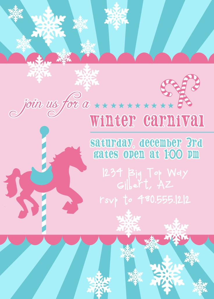 299 best Carnival birthday party images on Pinterest Carnivals - circus party invitation