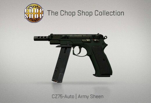 Counter-Strike Global Offensive: The Chop Shop Collection: CZ75-Auto Army Sheen