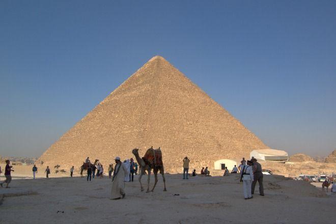Sete Maravilhas do Mundo Antigo - Piramide de Queops