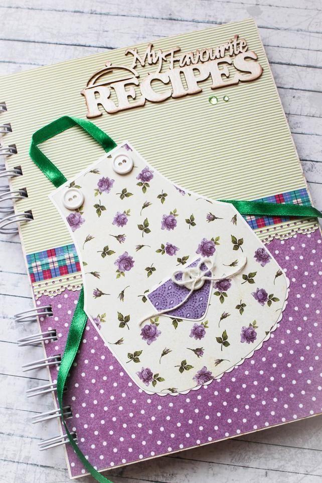 Recipe book organiser