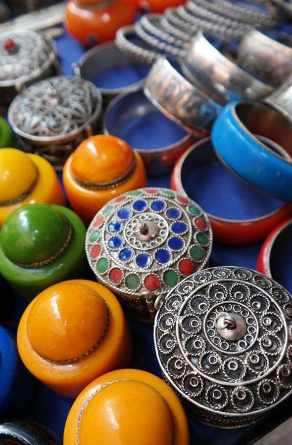 Vibrant colors of Morocco. Travel photo by Katja Presnal @skimbaco