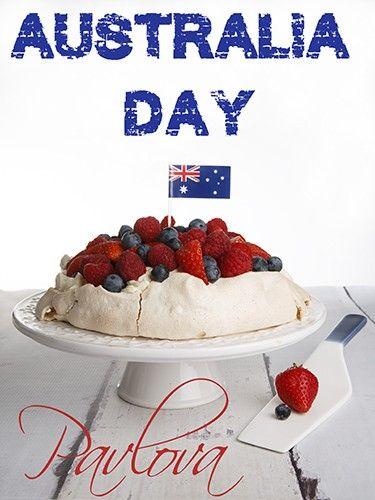Australia Day Pavlova - Very Vanilla Pavlova with mixed berries and a Chantilly cream! Over the top YUM! #AustraliaDay #dessert #recipe