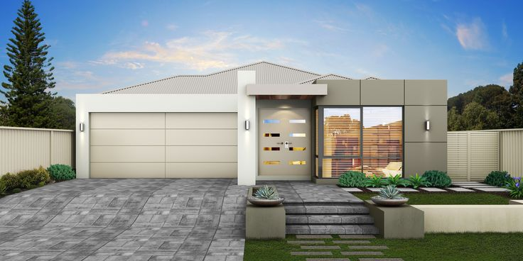 'The Waverly' by Choice by Projex is a modern single storey home design.