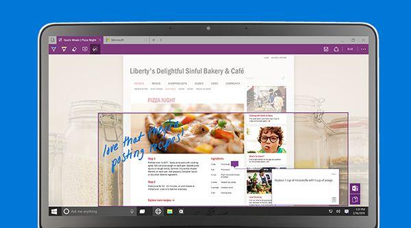 Microsoft spartan web browser for windows 10
