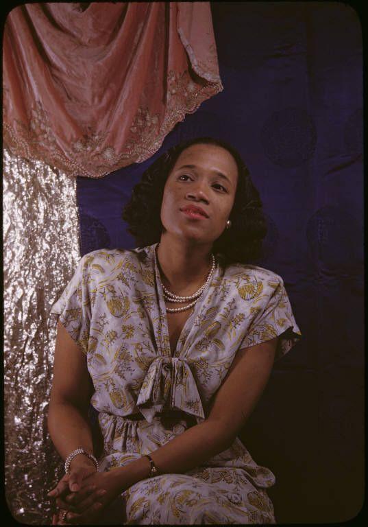 Opera legend Camilla Williams, photographed here by Carl Van Vechten in 1946,