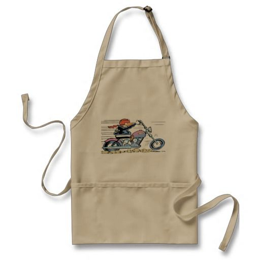 If you ride a bike and good on the BBQ then you need this apron! $29.95 from the Swamp Cartoons Zazzle Store #apron #WildDucks http://www.zazzle.com.au/swamp_wild_duck_apron-154780860043946476?rf=238100710189761270