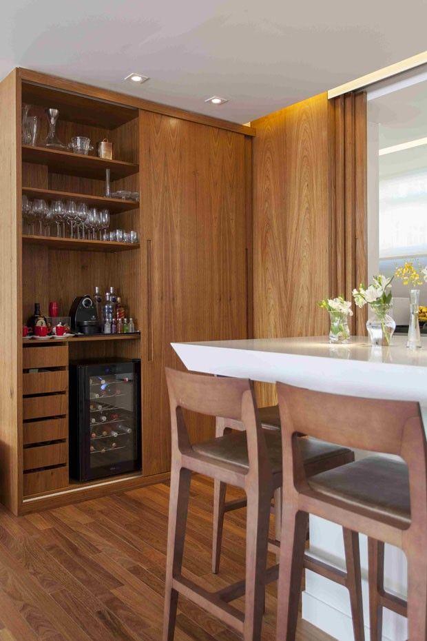 Apartamento integrado, em São Paulo (Foto: Divulgação)