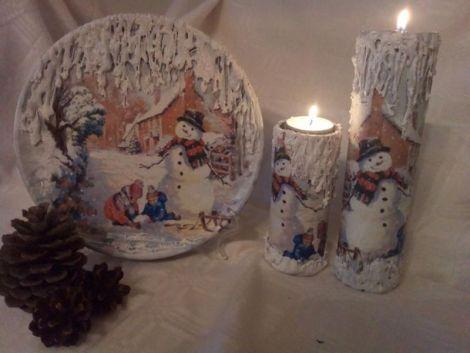 Set decorativ  Joaca in zapada
