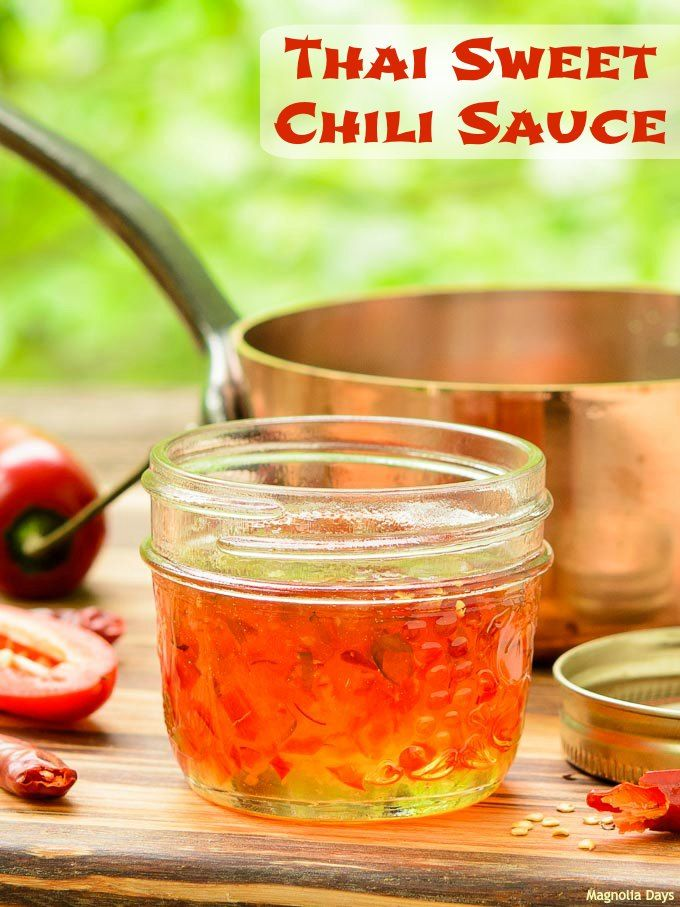 Thai Sweet Chili Sauce is thick, sweet, hot, sour, and spicy. It's a ...