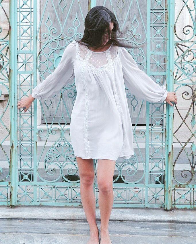 Summer breeze in a divine magic bus loose dress..