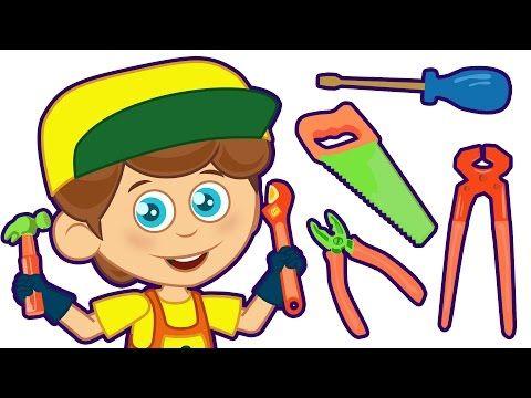 İşte Bir Tamirci   Sevimli Dostlar ile Çocuk Şarkıları 2016   Adisebaba TV Bebek Şarkıları - YouTube