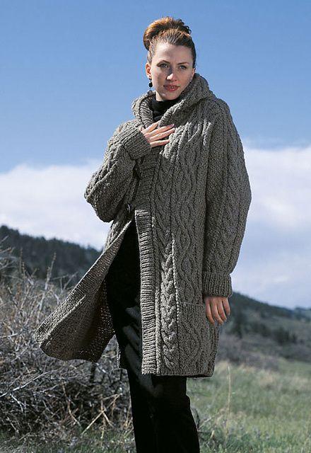 Ravelry: Aran Duffle Coat pattern by Judith L. Swartz