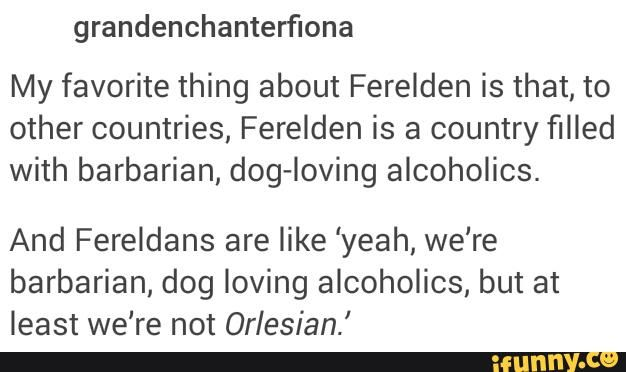 "And you know we all played Inquisition with the mindset of ""gross why does my Inquisition have to be ORLESIAN??"" And then we travel to an Orlesian area and we are just like "".... It's pretty and all... But it still has ORLESIANS"""