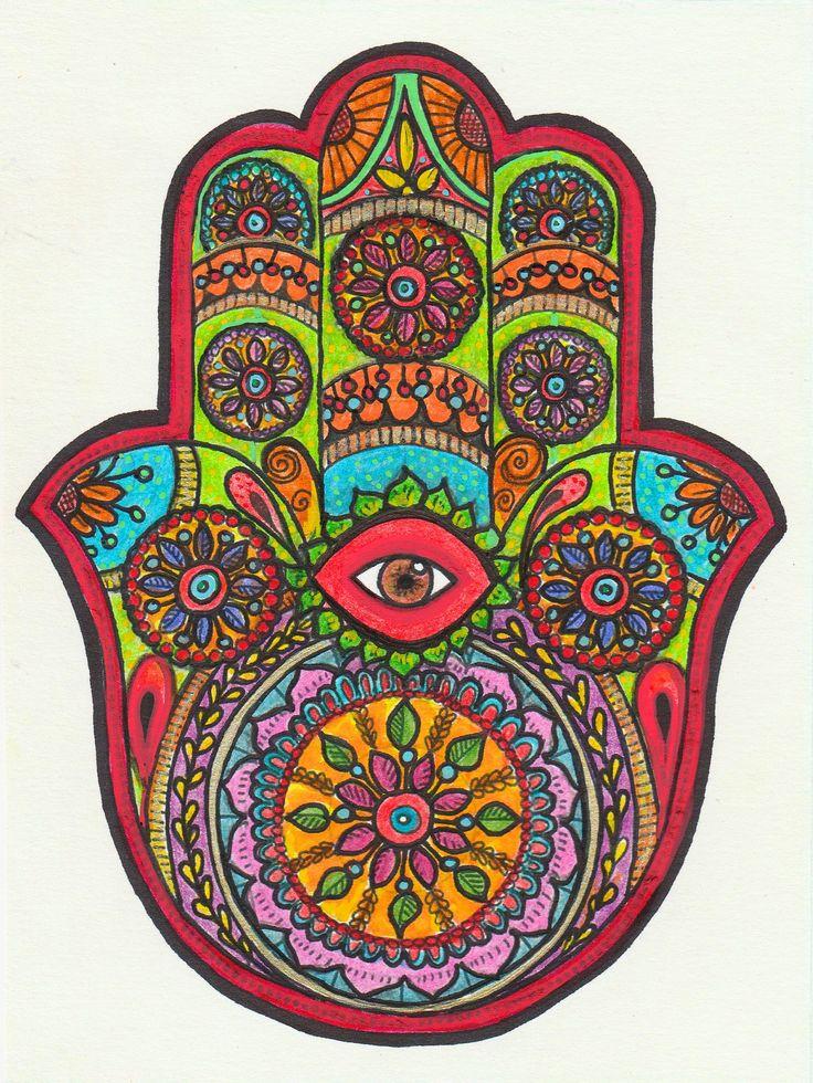 Les 29 meilleures images du tableau klimt sur pinterest - Coloriage main de fatma ...