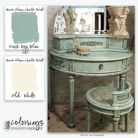Annie Sloan Chalk Paint® Reader Request | Colorways with Leslie Stocker