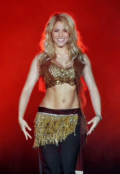 Shakira Photos Photos - Singer Shakira performs on stage during Rock in Rio…