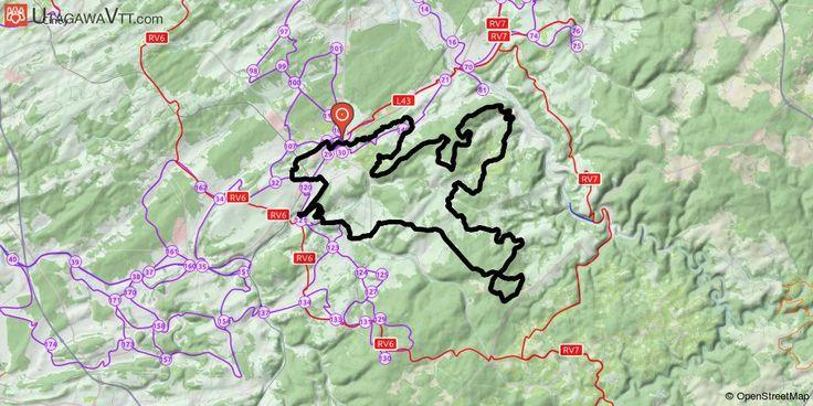 [Belgique] Boucle endurance autour de Marche-en-Famenne Une belle boucle de 84 km s'étalant au sud-est de Marche-en-Famenne. La trace serpente dans les forêts, campagnes et villages alentour, entre Marche, la vallée de l'Ourthe, et les forêts de résineux de la région de Champlon Ardenne.
