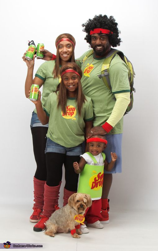 sun drop family costume - Sundrop Halloween Costume