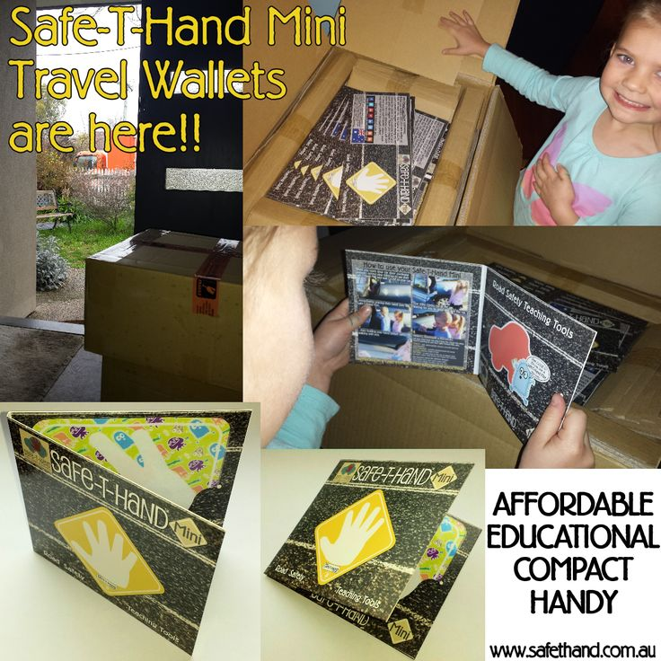 Safe-T-Hand Mini Car Magnets are compactly sized at 12cm x 12cm. They fit into your pocket, handbag and glove box - GRAB & GO! They're sold in Travel Wallets for flat, clean storage when not in use (e.g. when washing the car). All instructions and a visual aid are printed inside. > Affordable > Compact > Educational > 'Handy' www.safethand.com.au #roadsafety #safethandmini #child #pedestrian